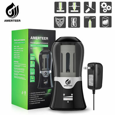 AMERTEER Automatic Electric Pencil Sharpener For School Office Home Classroom
