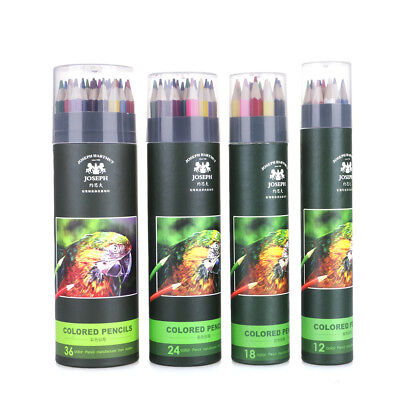 Professional Soft Core Oil Based Colored Pencils Set 12/18/24/36/48/72 Color