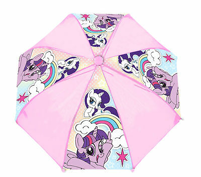 My Little Pony Umbrella Kids Pink Twilight Sparkle Rarity Rainy Day Brolly