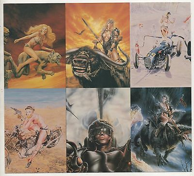RARE Comic Images 6 Images Promotional card The Art of Heavy Metal issued 1995