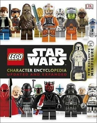 NEW  STAR WARS LEGO CHARACTER ENCYCLOPEDIA with MINIFIGURE storm trooper