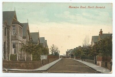 POSTCARDS-SCOTLAND-NORTH BERWICK-PTD. Marmion Road.