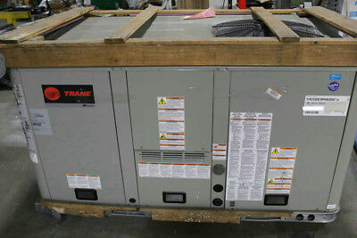 Trane YHC 3 Ton 208-230V 3PH rooftop Air conditioner With Gas Heat