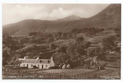 POSTCARDS-SCOTLAND-ARRAN-RP. Corrie with Goat Fell.