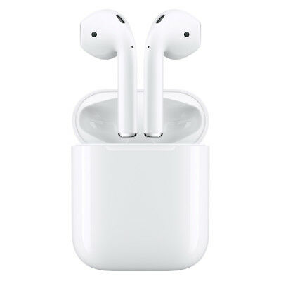 Apple MMEF2AM Airpods Bluetooth Headset for iPhone iPad Apple Watch