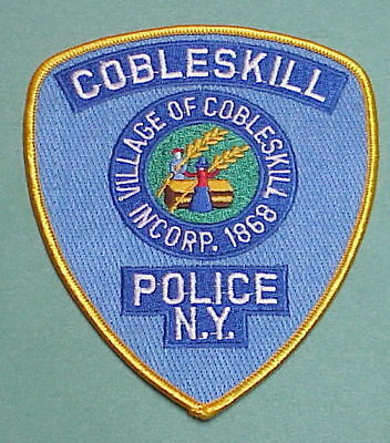 Cobleskill  New York  Ny  Incorporated 1868  Police Patch  Free Shipping!!!