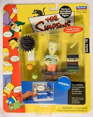 The Simpsons World of Springfield Figurine S10 Dr Marvin Monroe 2002 Playmates