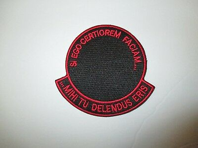 b8523 US Air Force Groom Black Ops Si Ego Certiorem Mihi Tu Delenous Eris IR24D