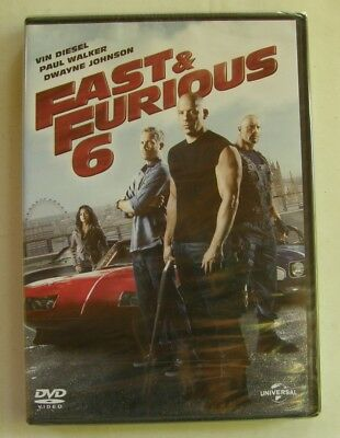 DVD FAST & FURIOUS 6 - Vin DIESEL / Paul WALKER / Dwayne JOHNSON - NEUF