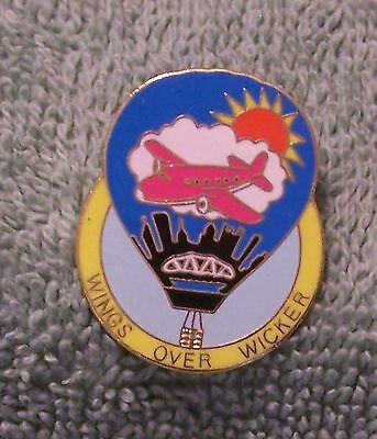 Wings Over Wicker Balloon Pin