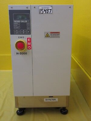 H-2000 SMC INR-498-012D-X007 Thermo Chiller HX Used Tested Working