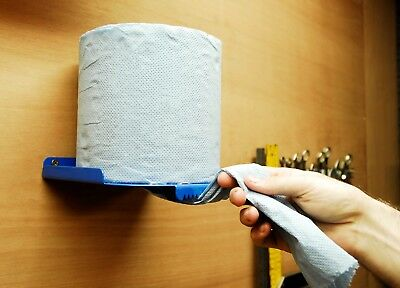 Centre Feed Paper Wipe Roll Hand Towel Tissue Blueroll Holder Dispenser