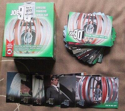 JOE 90 The Gerry Anderson Collection BASE & FOIL SET & BOX Trading Cards 2017
