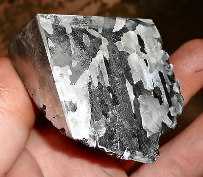Beautiful 645 Gm. Etched Campo Del Cielo Meteorite Triple Cut