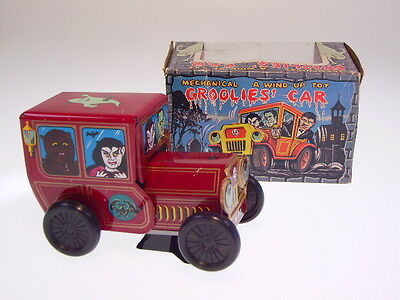 "GSCOM, GSPKW, FRANKENSTEIN ""GROOLIES CAR"" YONE, 12cm, NEU/NEW/NEUF IN BOX  !"