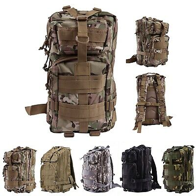 Military Tactical Backpack Expandable Small Lightweight Assault Pack 20L  MOLLE fb2c46a53e
