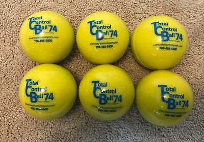Total Control Ball 74 Baseball.  TCB 74 Weighted Training Baseballs 6 Pack