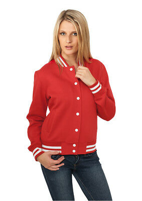 Ladies College Sweatjacket Streetwear Giacca Donna Urban Classics