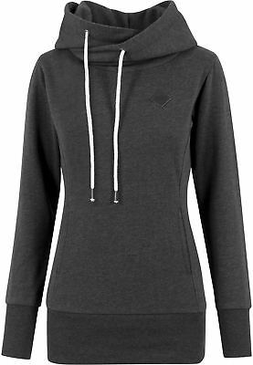 Ladies Long Logopatch Hoody Urban Classics Streetwear Hoodies Felpa Cappuccio