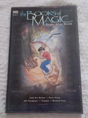 Graphic Novel - The Books of Magic Death After Death - Book 7 - DC Comics