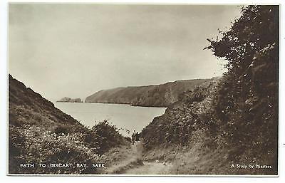 CHANNEL ISLANDS - SARK, PATH TO DIXCART BAY Masters Postcard