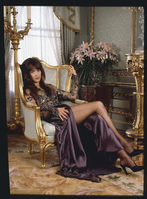 SOPHIE MARCEAU Stunning James Bond Girl Original Glamour Photo TRANSPARENCY