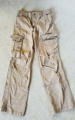 Boys Cherokee tan  Cargo pants Size 16