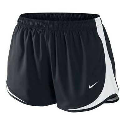 "NIKE Black/White Original TEMPO Dri-Fit Women's 3"" Running/Race Shorts NWT - M"