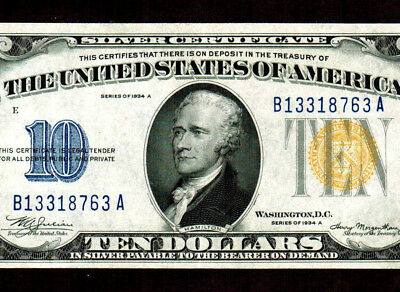 $10 1935A  (( North Africa )) Silver Certificate ** MORE CURRENCY FOR SALE**