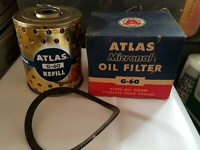 Atlas G-60 Micronal Oil Filter NOS