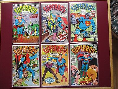 Lot of 16 Superboy Silver age comics  1967 to 1970 #139 141 142 143 144 145 146