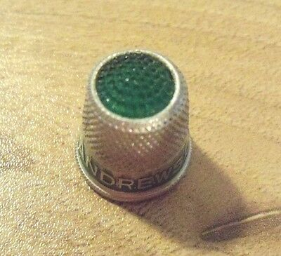 Vintage Andrews  Liver Salt Thimble