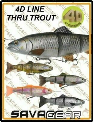 Savage Gear 4D Line Thru Trout new 2018 ! crazy price