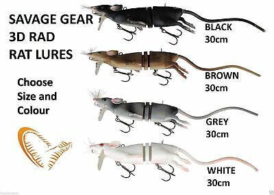Savage Gear 3D Rad rats 20cm and 30cm and maintenance kits ! crazy price!