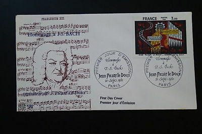 paintings music composer Bach FDC 67516