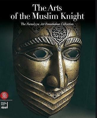 "Indo Persian Warrior Iron Mask  "" The Arts Of Musil Kinght"" Book Cover Page"
