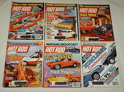 Hot Rod Magazine 1987 12 Issues