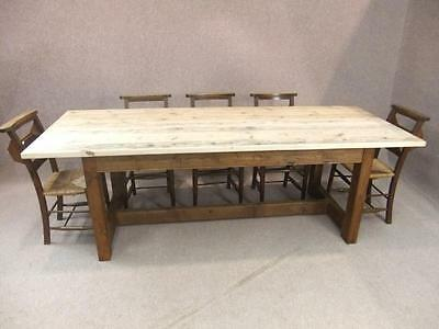 6Ft Pine Farmhouse Table With A Scrub Top Woodstock