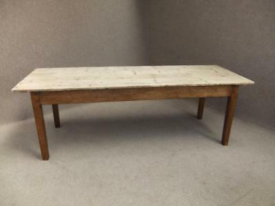 Scrub Top Pine Kitchen Farmhouse Table 180Cm