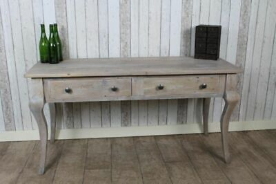 Reclaimed 4Ft Pine French Style Limed Sideboard Side Console Table The Florence
