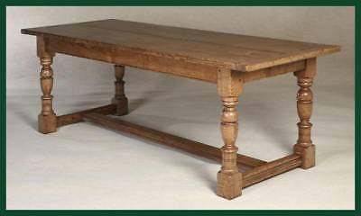 Oak Refectory Kitchen / Dining Table Made To Any Size