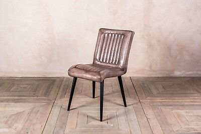 Vintage Style Clay Leather Kitchen Dining Chairs Restaurant Chairs The Epsom