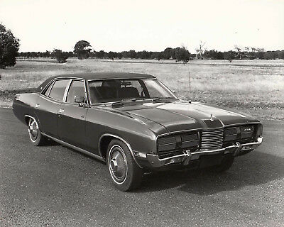Ford Ltd Rhd Four Door Saloon Photograph, Stamped Date Okt 1973.