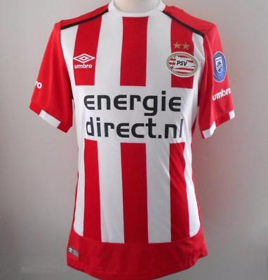 PSV EINDHOVEN Umbro Home Shirt 2016-2017 NEW BNWT Jersey Thuisshirt Men's Large
