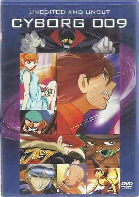 Dvd Cyborg 009 Unedited And Uncut (English)