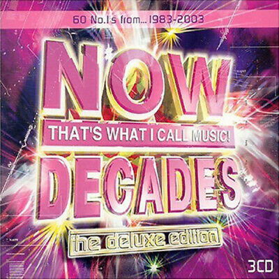 Various Artists : Now That's What I Call Music!: Decades CD (2003)