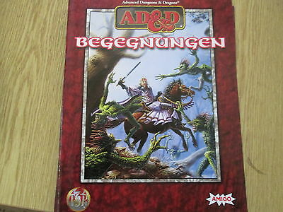 Advanced Dungeons & Dragons. Begegnungen. Amigo Dietzenbach 1998.