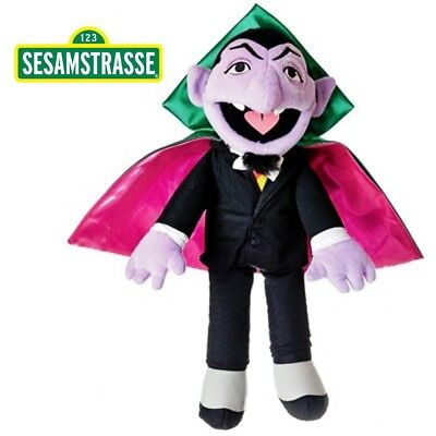 Sesame Street - Plush Soft Toy Character The Count 34 cm