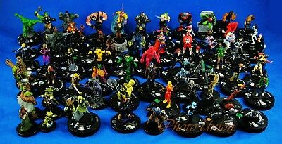 LOT of 5 Bulk Marvel Heroes Wizkids Neca Heroclix Miniatures Game Figure K521x5