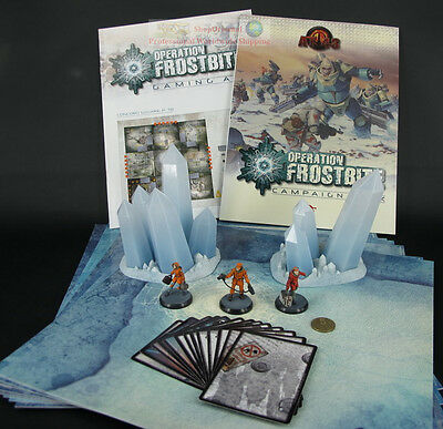 RACKHAM AT-43 Operation Frostbite Campaign Set Miniature Game Figure ATSET02U